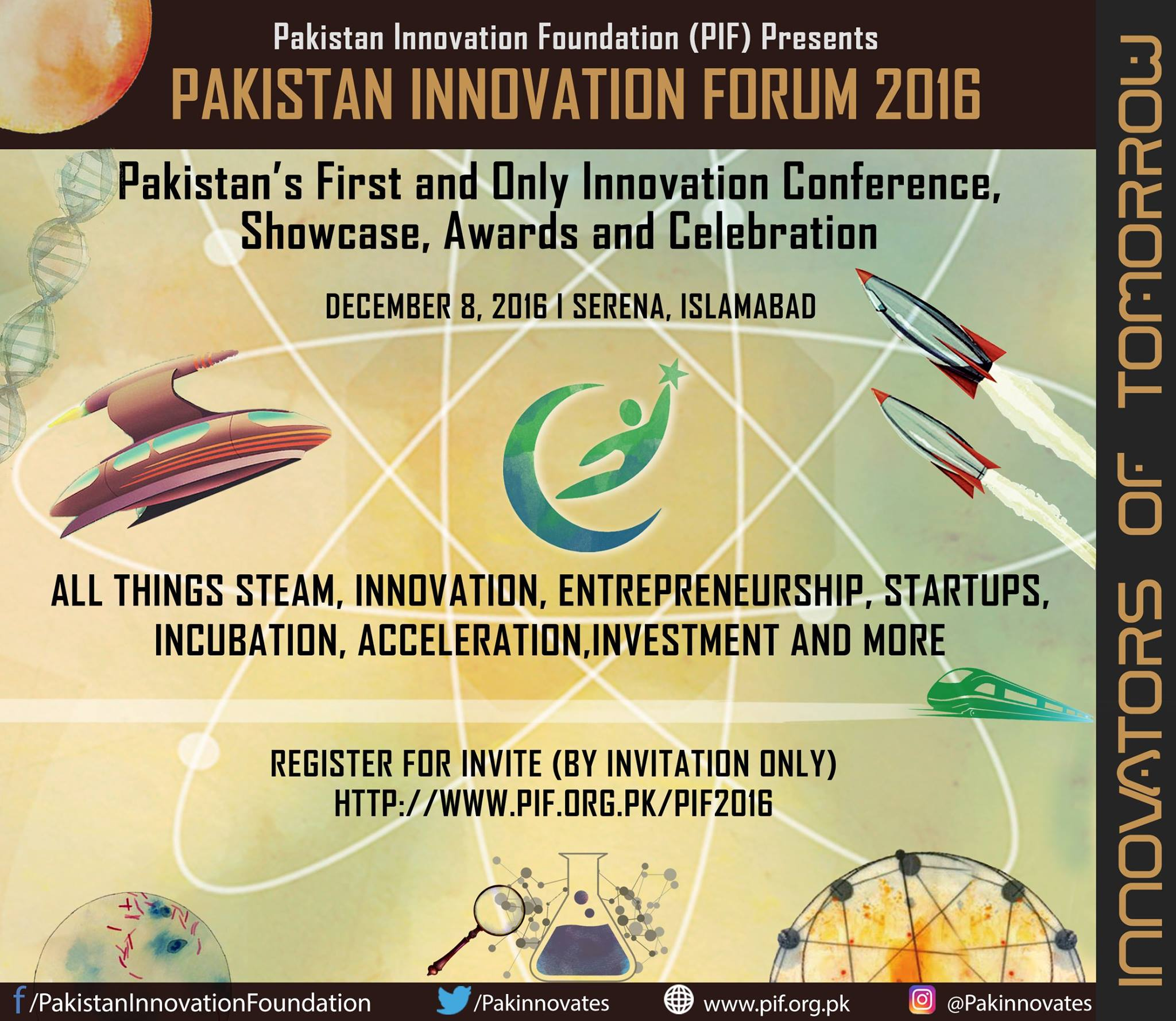 Pakistan Innovation Forum 2016